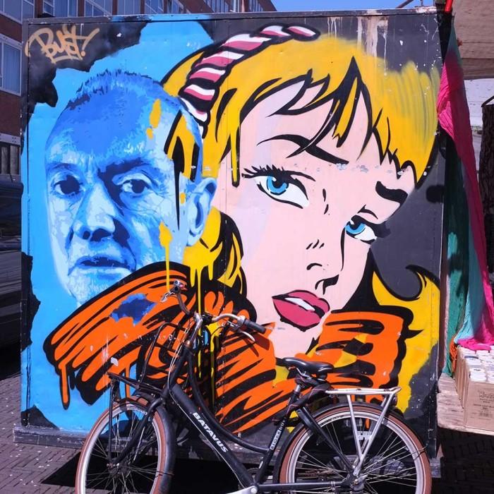 Graffity in Amsterdam